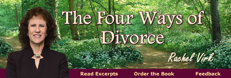 The Four Ways of Divorce, by Rachel Virk, Vanguard Books